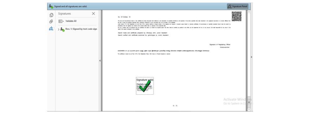 TNREGINET portal EC